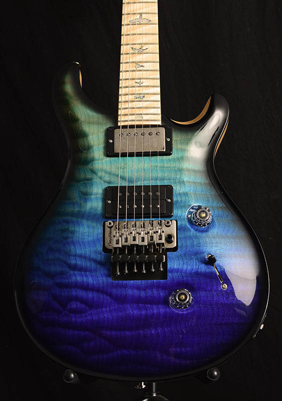 Paul Reed Smith Wood Library Custom 24 Floyd Brian's Limited Blue Fade Smokeburst-Brian's Guitars