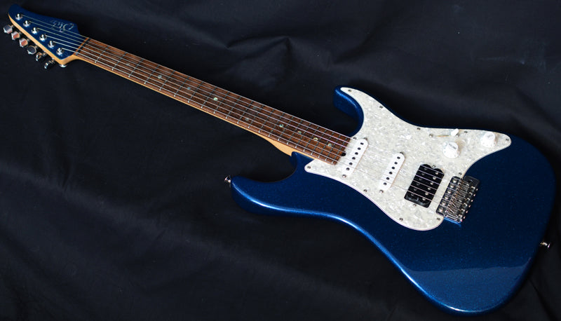 Used Suhr Standard Blue Sparkle Metallic-Brian's Guitars