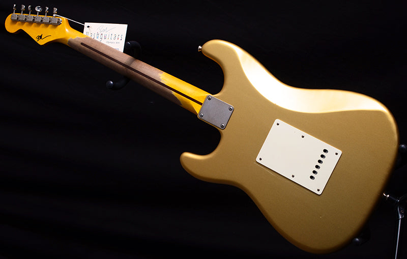 Nash S-57 Aztec Gold-Electric Guitars-Brian's Guitars