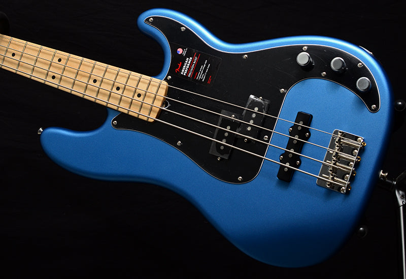 Fender American Performer Precision Bass Satin Lake Placid Blue