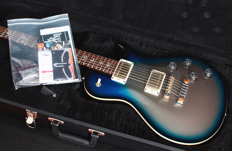 Used Paul Reed Smith Stripped 58 Platinum Metallic Blue Burst-Brian's Guitars