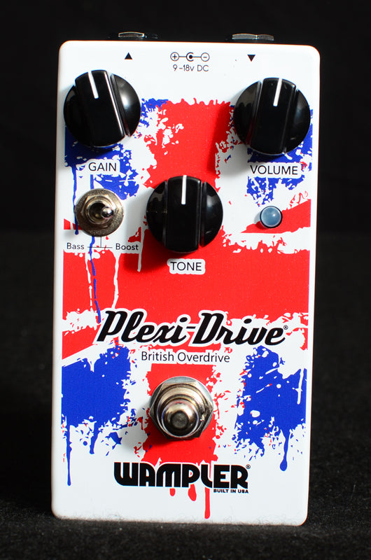 Wampler Plexi-Drive British Overdrive-Effects Pedals-Brian's Guitars