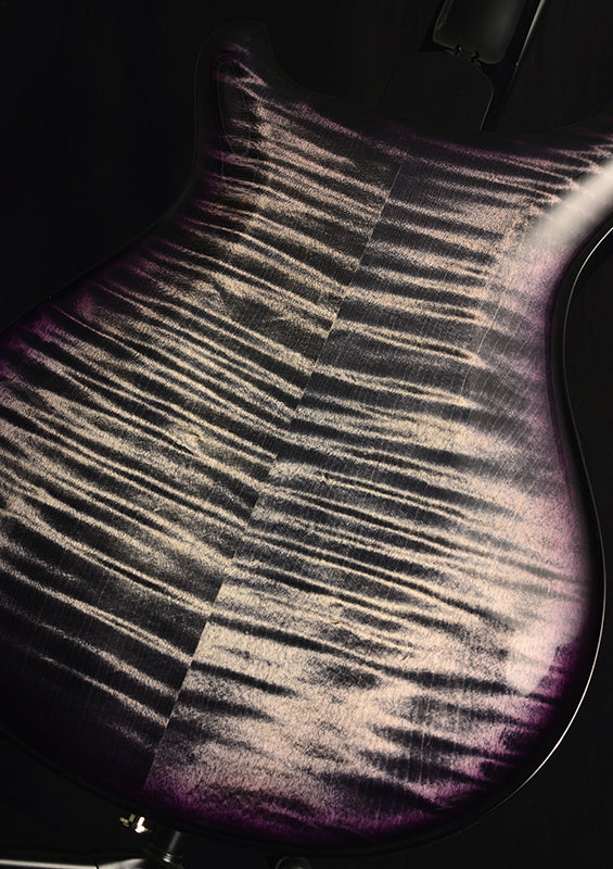 Paul Reed Smith Hollowbody II Charcoal Purple Burst-Brian's Guitars