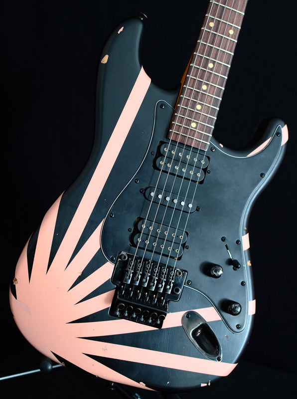 Nash S-81 Black With Shell Pink Rising Sun-Brian's Guitars