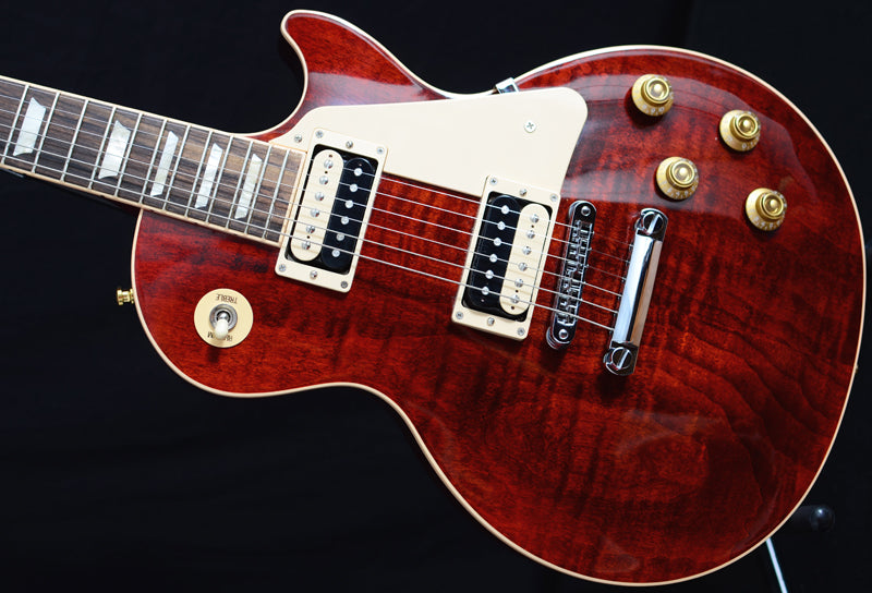Used Gibson Les Paul Traditional Pro II Merlot Red-Brian's Guitars