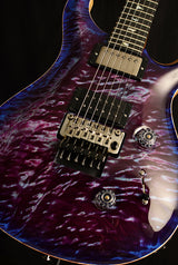 Used Paul Reed Smith Wood Library Custom 24 Floyd Brian's Limited Violet Blue Burst