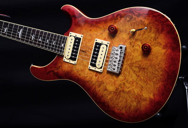 Paul Reed Smith SE Custom 24 Laurel Burl Limited Vintage Sunburst-Electric Guitars-Brian's Guitars