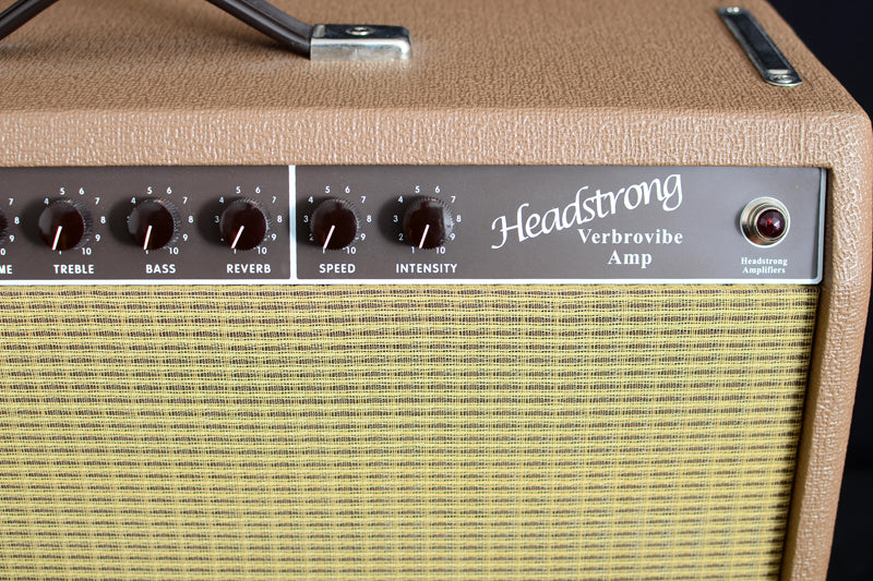 Used Headstrong Verbrovibe 2x10 Combo-Brian's Guitars