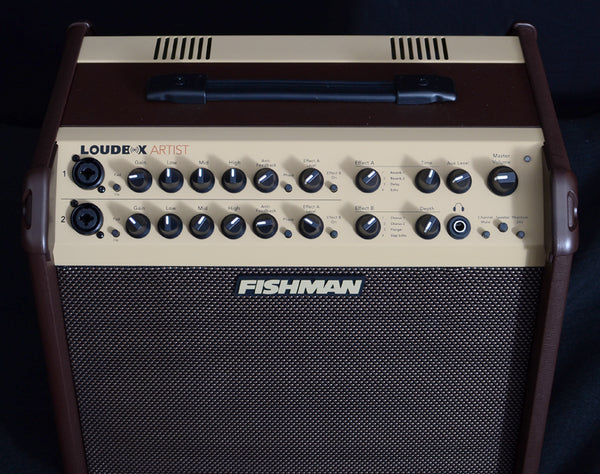 Fishman Loudbox Artist PRO-LBX-600 Acoustic Combo Amp-Amplification-Brian's Guitars