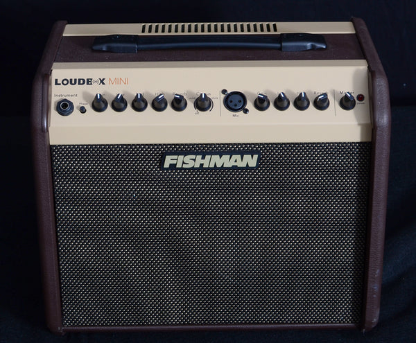 "Fishman Loudbox Mini 60-watt 1x6.5"" Acoustic Combo Amp with Tweeter-Amplification-Brian's Guitars"