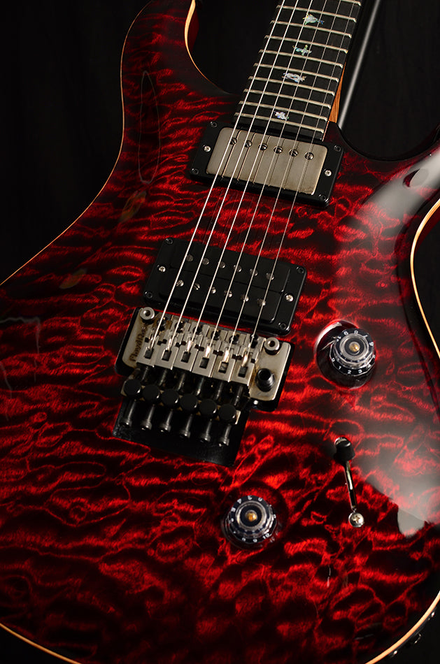 Paul Reed Smith Wood Library Custom 24 Floyd Brian's Limited Fire Red-Brian's Guitars