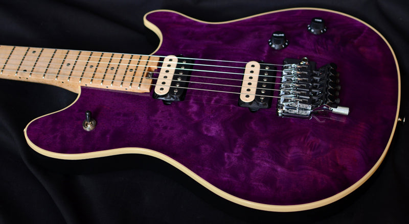 Used Peavey EVH Wolfgang First Year Quilt Purple-Brian's Guitars