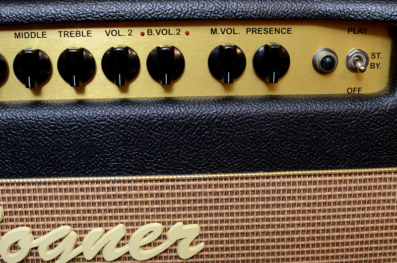Used Bogner Shiva EL34 Head With Reverb