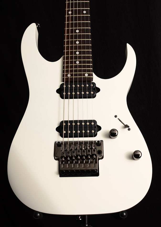 Used Ibanez Prestige RG752 Limited White-Electric Guitars-Brian's Guitars