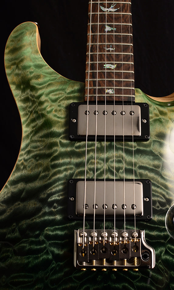 Paul Reed Smith Wood Library Custom 24 Fatback Brian's Limited Trampas Green Fade