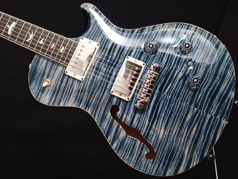 Paul Reed Smith P245 Semi-Hollow Faded Whale Blue-Brian's Guitars