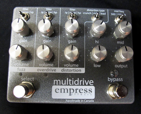 Empress Multidrive-Effects Pedals-Brian's Guitars