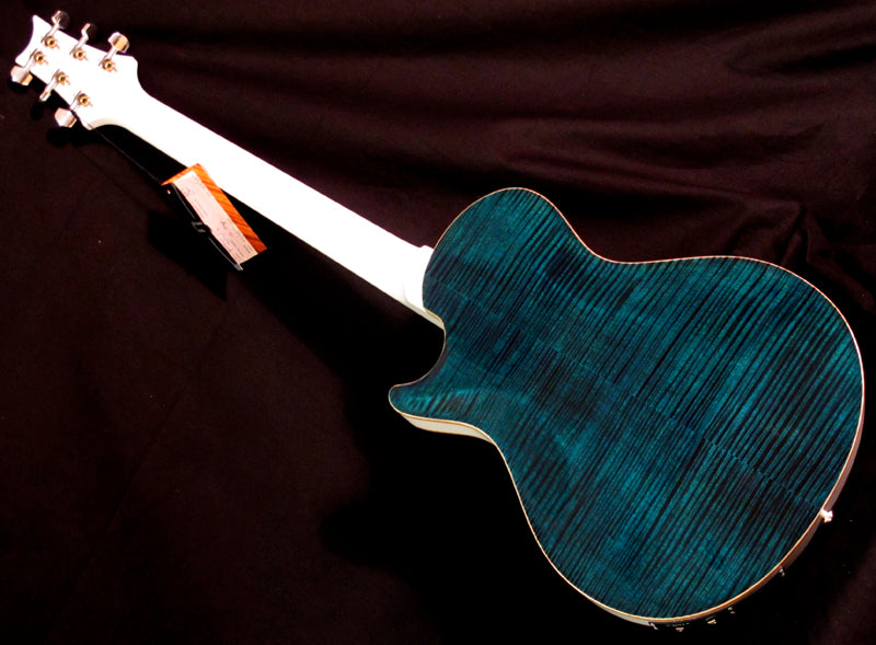 Paul Reed Smith Singlecut Hollowbody II Teal Black-Brian's Guitars