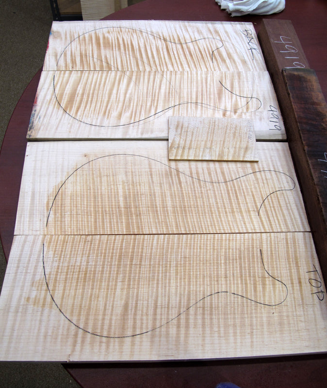 Paul Reed Smith Private Stock Paul's Guitar Build In Progress-Brian's Guitars