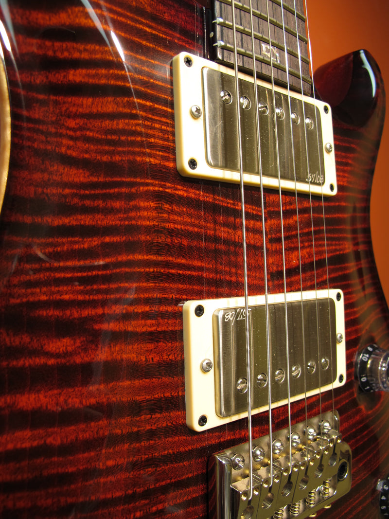 Paul Reed Smith Custom 24 Fire Red Burst-Brian's Guitars