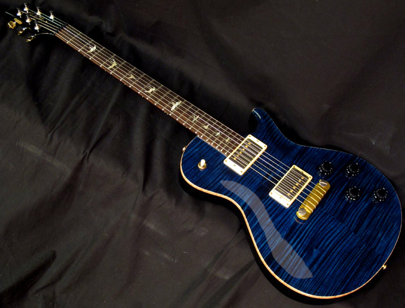 Used Paul Reed Smith Singlecut Semi-Hollow Limited Whale Blue-Brian's Guitars