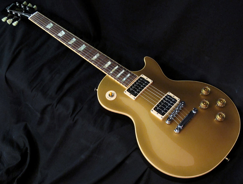 Used Gibson Slash Signature Les Paul Goldtop-Brian's Guitars