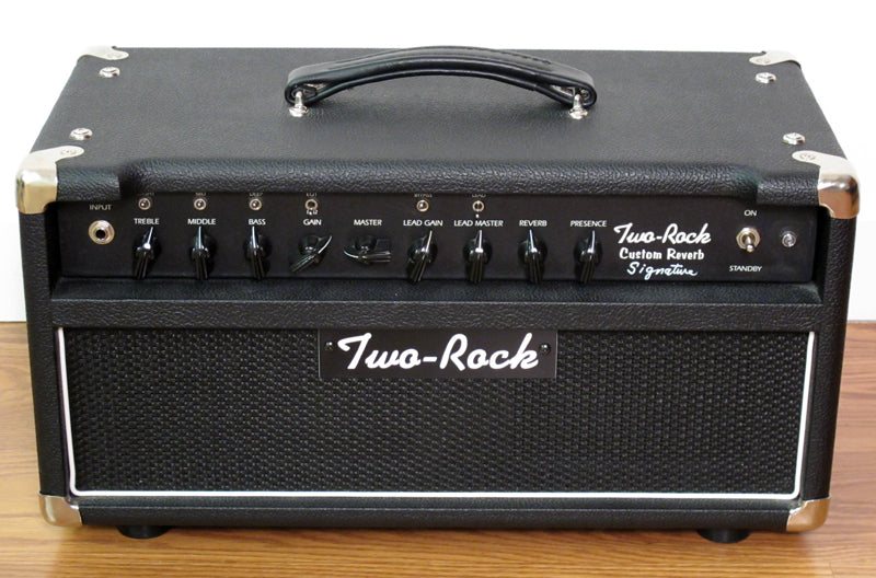 Used Two-Rock Custom Reverb Signature Head-Brian's Guitars