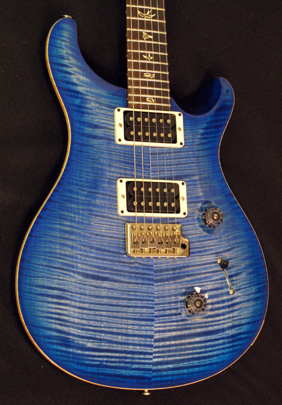 Paul Reed Smith Custom 24 Faded Blue 10 Top-Brian's Guitars