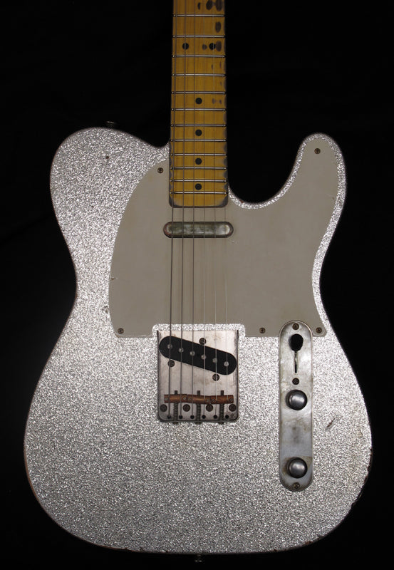 Nash T-57 Custom Silver Sparkle-Brian's Guitars