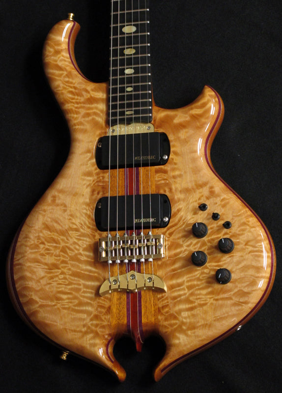 Alembic Darling Chocolate Quilt-Brian's Guitars