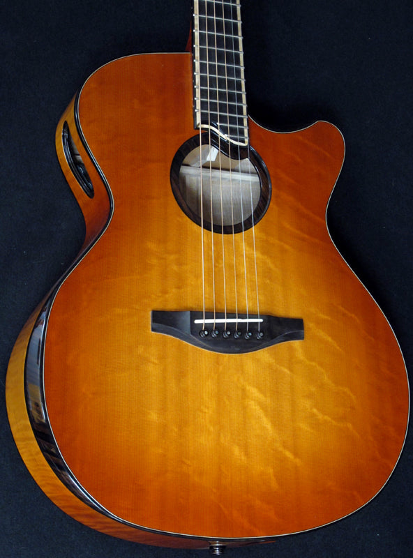 Used Everett Metrocaster Acoustic-Brian's Guitars