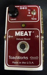 Used Toadworks Meat Jr. Deluxe Boost-Effects Pedals-Brian's Guitars