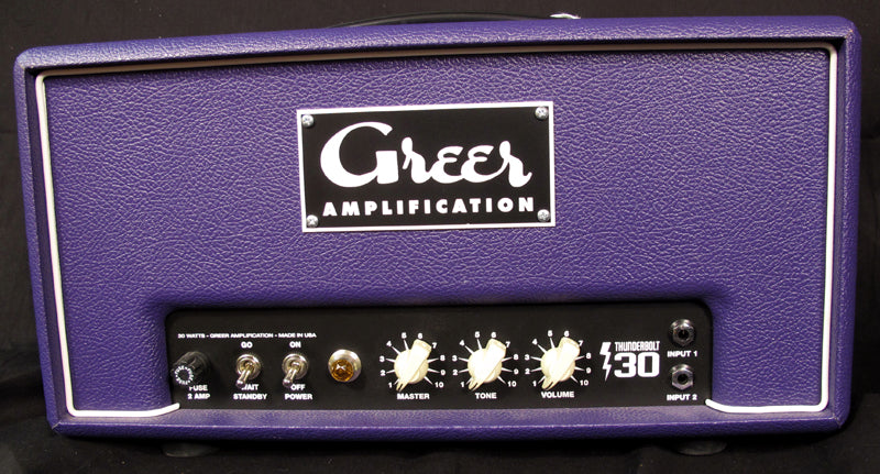 Used Greer Amplification Thunderbolt 30-Brian's Guitars