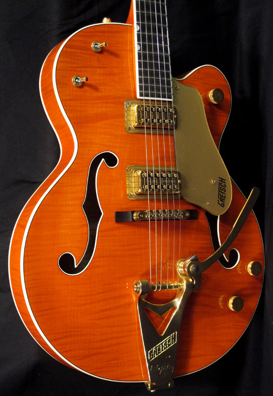 Used Gretsch 6120TM Tiger Maple-Brian's Guitars