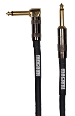 Mogami Platinum Right Angle Guitar Cable (12ft)-Accessories-Brian's Guitars
