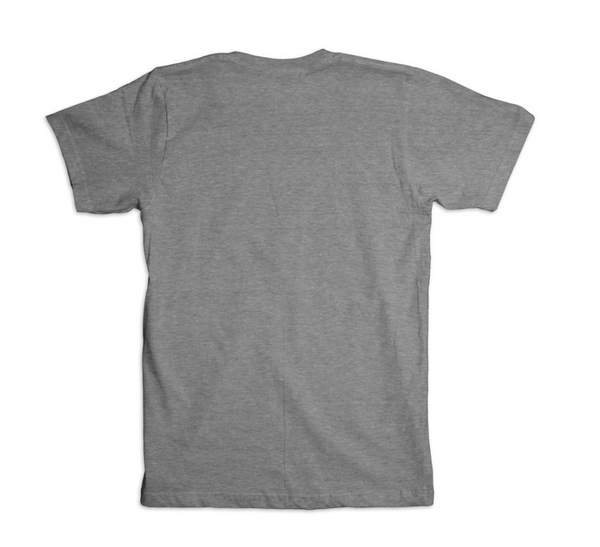 Premium Gray T-shirt with Black Ink-Apparel-Brian's Guitars