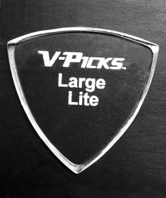 V-Picks Large Pointed Lite-Accessories-Brian's Guitars