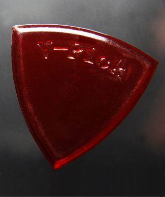 V-Picks Small Pointed Ruby Red-Accessories-Brian's Guitars