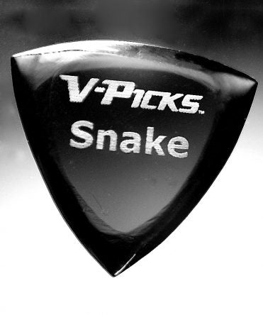 V-Picks Snake Pointed Smokey Mountain-Accessories-Brian's Guitars