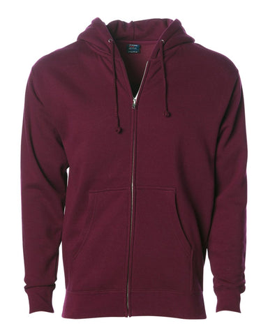 IND4000Z Zip Up Hooded Sweatshirt from Indepedent Trading Company