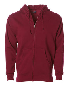 Independent Trading Co Heavyweight Zip Hooded Sweashirt