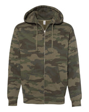 Load image into Gallery viewer, Independent Trading Co Heavyweight Zip Hooded Sweashirt