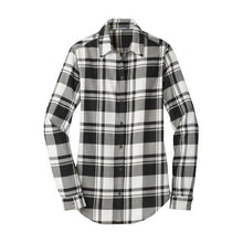 Load image into Gallery viewer, Port Authority® Ladies Plaid Flannel Shirt