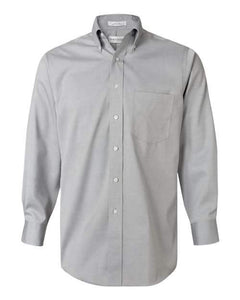 Mens Non-Iron Pinpoint Oxford Shirt