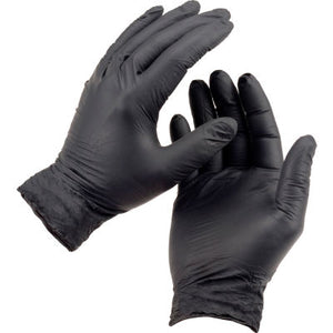 Safeco Black Nyle Gloves Box of 100