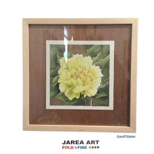 Load image into Gallery viewer, Peony Watercolour Painting Geoff Slater