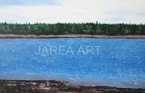 Passamaquoddy Bay Navy Island St. Andrews New Brunswick Print