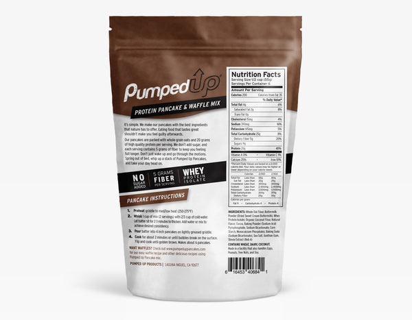 3 Pack (3 x 12oz) Protein Pancake Mix - Chocolate Peanut Butter