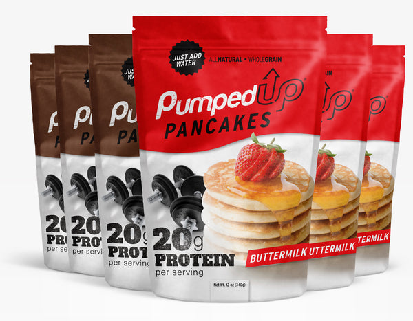 Mixed 6 Pack (6 x 12oz) Protein Pancake Mix