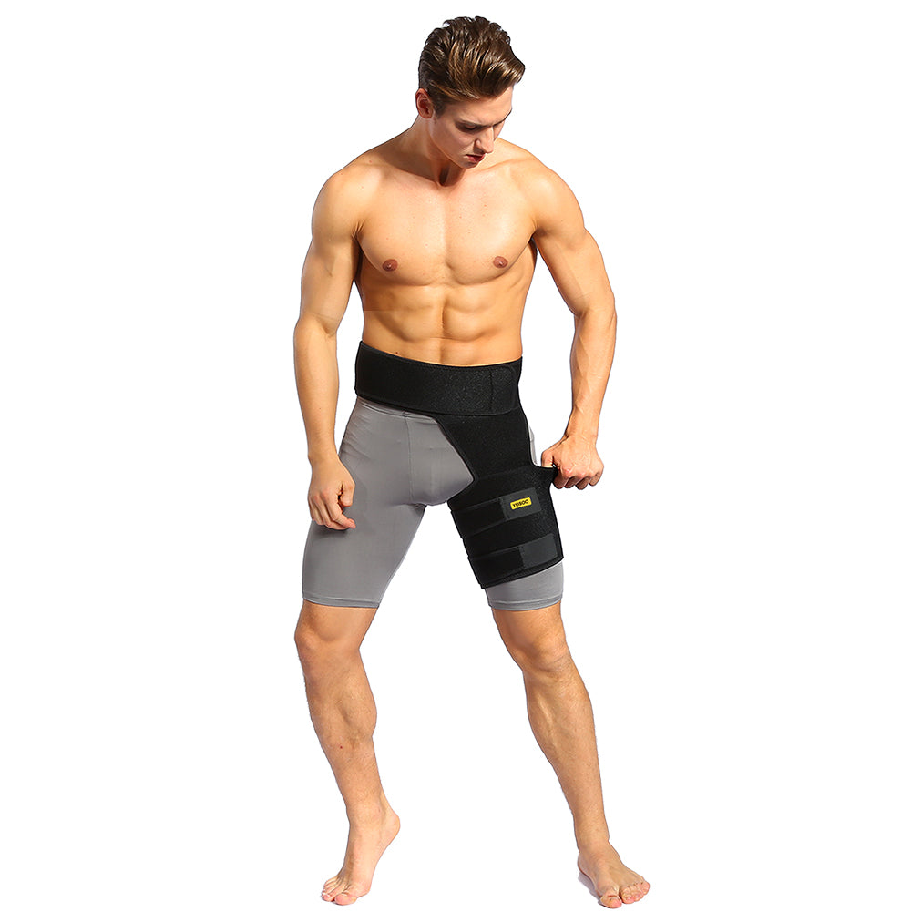 Groin Thigh Sleeve and Hip Support